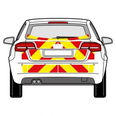 C8 Oralite 5960 Red & ORACAL 7510 RapidAir Fluo Yellow Audi A3 2008-2012