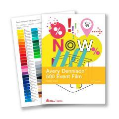 Avery 500 Colour Card