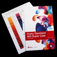 Avery 900 Colour Card