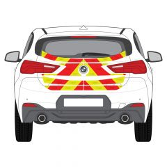 C8 Oralite 5400 Red & ORACAL 7510 RapidAir Fluo Yellow BMW X2 F39 2018