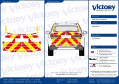 C8 Oralite 5960 Red & ORACAL 7510 RapidAir Fluo Yellow BMW X5 Series 2015
