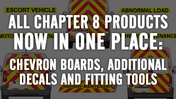 Chevron boards, additional decals and fitting tools for Chapter 8 kits now available