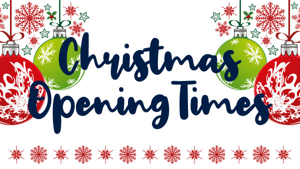 Festive opening times at Victory Design Ltd