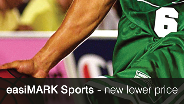 New lower price on easiMARK Sports