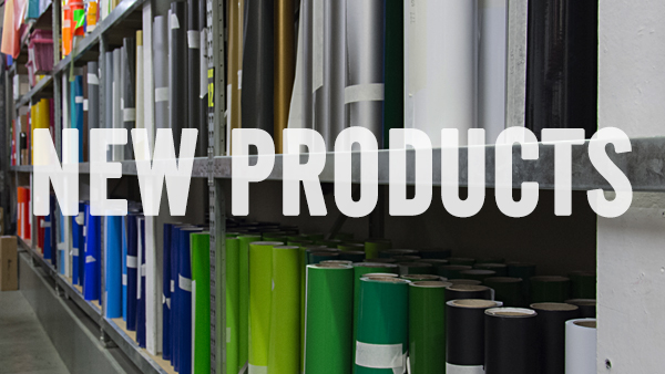 Exciting new additions to our product range