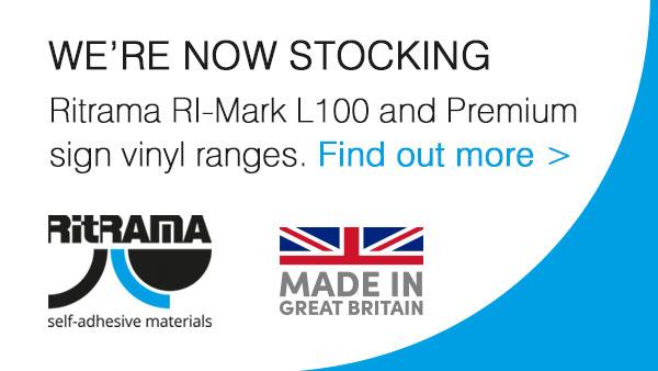 Product Launch - Ritrama L100 and Premium Sign Vinyl