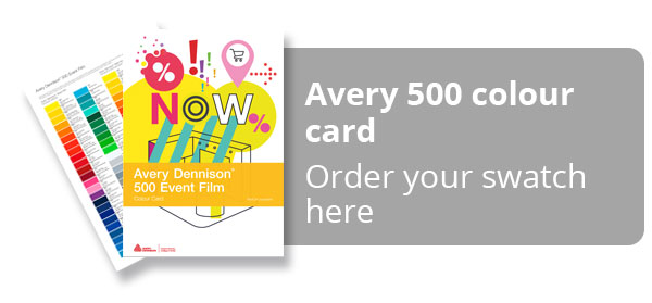 Avery 500 Swatch Card