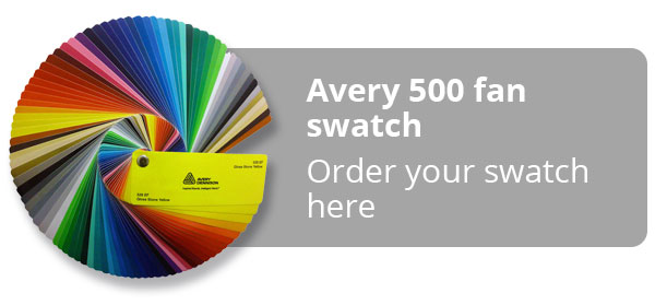 Avery 500 Swatch Fan