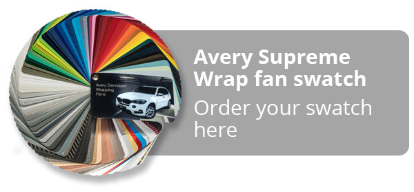 Avery Supreme Wrap Fan Swatch