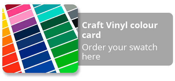 Craft Vinyl Swatch Card