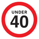 Under 40mph