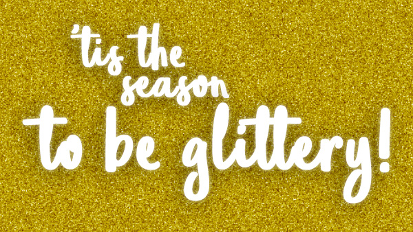 Festive Glitter Garment Film For Less – Limited Time Only